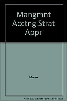 Mangmnt Acctng Strat Appr