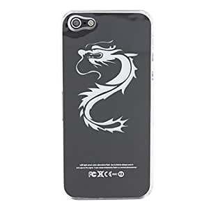 Dragon Pattern with Caller Flash Hard Case for iPhone 5