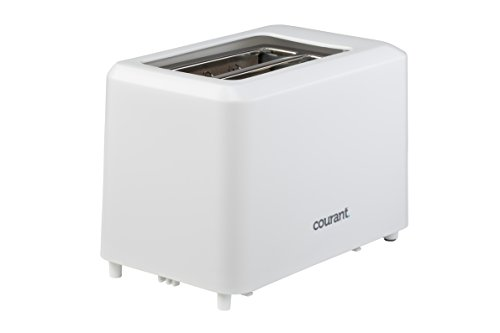 Courant CTP-2701W Cool Touch 2-Slice Toaster, White