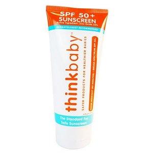 Thinksport, Sunscreen Kid Safe SPF 50, 6 Ounce