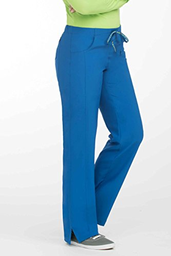Med Couture Women's 'Activate' Double Shift Scrub Pant, Royal, (Royal Blue Scrub Pants)