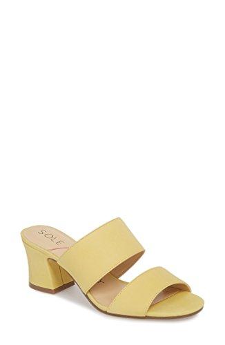 ソロソサエティ レディース サンダル Sole Society Heline Slide Sandal (Women) [並行輸入品]
