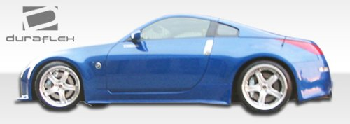 Nissan 350z Side Skirts - 3