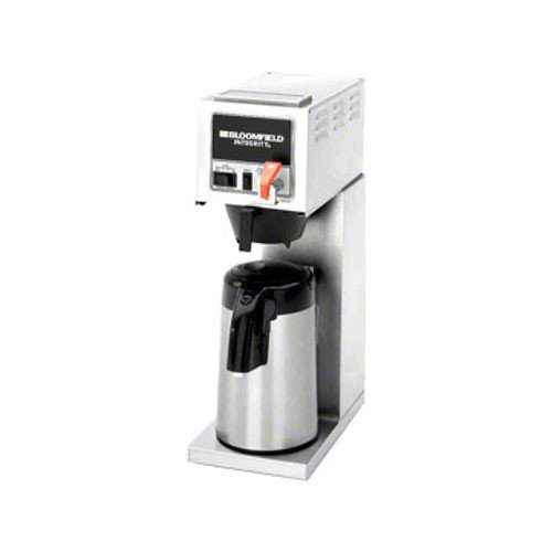 Bloomfield 8773AF Integrity Automatic Airpot Brewer, Pour-Over Option, Faucet, Stainless Steel, 17 1/4