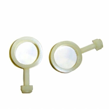 Pair of Flag Fasteners for Use with Spinning Flagpoles ()