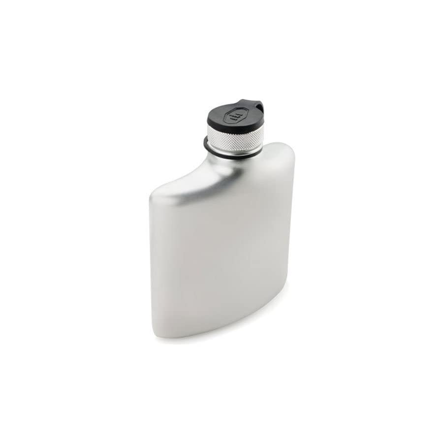 GSI Outdoors Glacier Stainless 8 Fl. Oz. Hip Flask, Superior Backcountry Cookware Since 1985