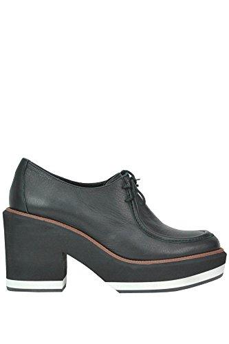 Paloma Barceló Chaussures À Lacets Pour Femmes Mcglcat02070i Cuir Noir