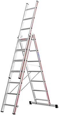 HYMER 404721 - Escalera multifunción: Amazon.es: Bricolaje y herramientas