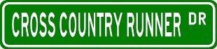 COUNTRY RUNNER Street Sticker Vinyl product image