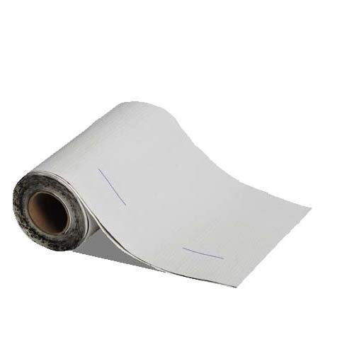 MFM Peel & Seal Self Stick Roll Roofing (1, 6in. White)