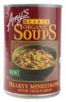 - Amy's Organic Hearty Soup Minestrone with Vegetables - 14.1 oz