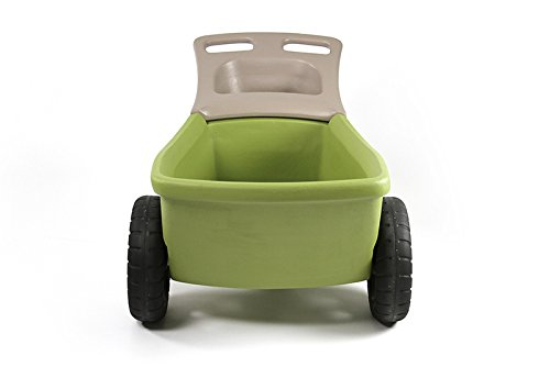 simplay3-easy-haul-plastic-wheelbarrow-wgarden-tool-storage-tray-4-cubic-ft-capacity