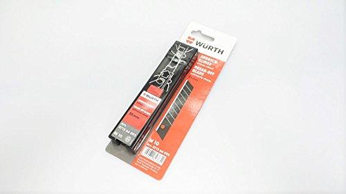4050641823731 W/ürth scatto estremamente tagliente 25 millimetri 10 St Lama di ricambio