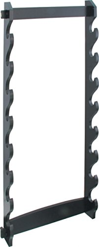 BladesUSA-WS-8W-8-Tier-Wall-Mount-Sword-Stand