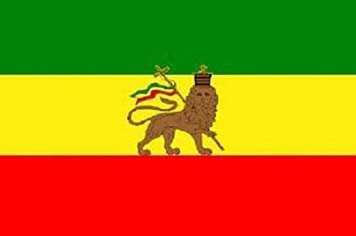 U24Bandiera Bandiera ETIOPIA con leone Boot Bandiera qualità premium 20x 30cm