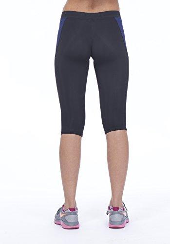 Ejercicio Gimnasio marino negro grande Fitness camiseta Deportes Yoga Uk14 corriendo azul Leggings Mujeres Corsair Actividades gqZwEct1