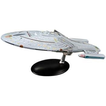 USS Voyager-Star Trek anglais Magazine-XL vaisseau métal modèle 25 cm
