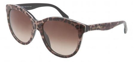 Dolce&Gabbana DG4149 Sunglasses-199513 Leopard (Brown Gradient - Dolce Gabbana Glasses And Leopard