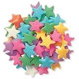 CakeSupplyShop Pastel Star Edible Sugar Sprinkles for Cakes and Cupcakes 4 oz