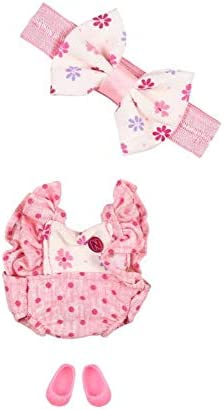 Distroller Diaper Bag Dots and Olans Pink with Bows for Ksimerito