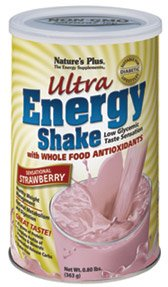 (Nature's Plus Ultra Energy Shake Sensational Strawberry - 0.8 lb)