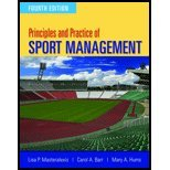 Principles & Practice of Sport Management (4th, 12) by [Paperback (2011)]