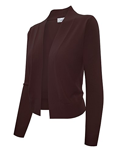 cielo-womens-knit-cropped-sweater-layered-shirttail-sweater-bolero-cardigan-large-sw620-c-brown