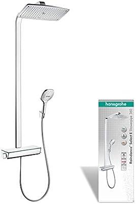 Hansgrohe 27112000 Raindance Select E 360 columna de ducha, 3 ...