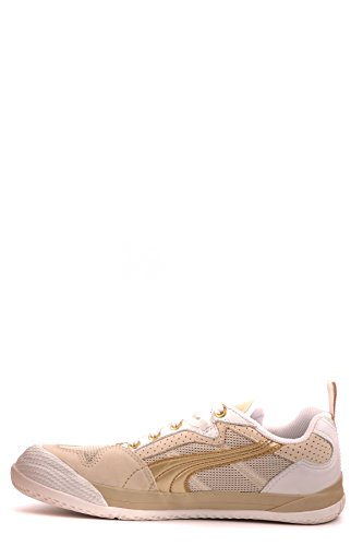 Neil Barrett Dame Mcbi220064o Guld Leder Sneakers bEgoEMm