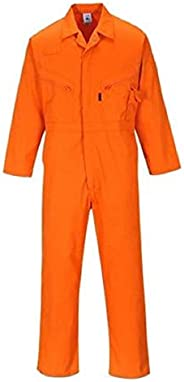 Just In Trend ǀ Flame Resistant FR Coverall - 88% C / 12% Nylon (Medium, Orange)