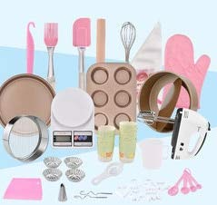 1 Set bakeware set Baking 35PCS cake whisk electronic scales pizza mold cup flour sieve gloves egg dispenserbakingware tools