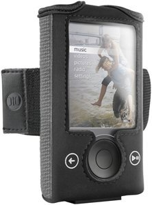 DLO Action Jacket Armband Case for Zune 30 GB (Black) (Action Jacket 17 Dlo)