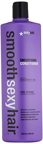 SEXYHAIR Smooth Smoothing Conditioner, 33.8 Fl Oz
