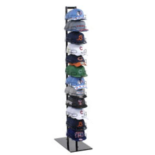 Baseball Hat Rack Display Tower