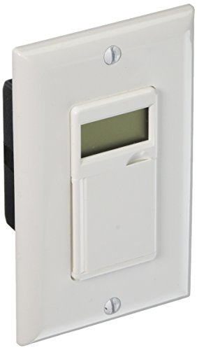 Woods 59020WD In-Wall 7-Day Digital Timer, White