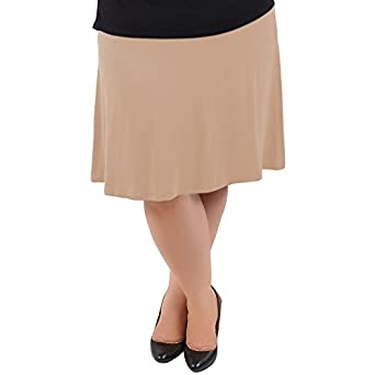 stretch is comfort s plus size a line knee length