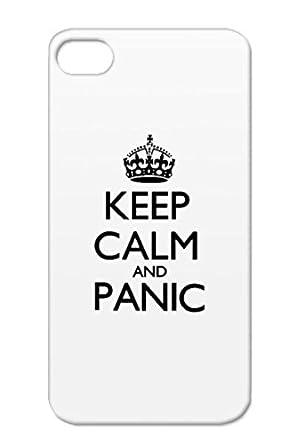 Symbol Symbols Shapes Icons Panic Keep Calm Funny Crown Black Case