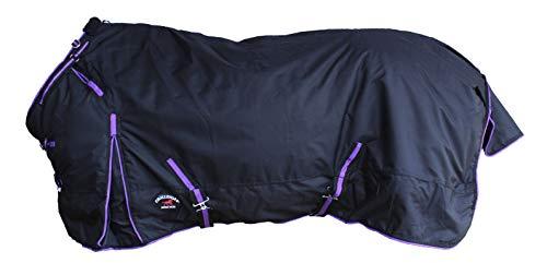 "CHALLENGER 84"" 1000D Horse Turnout Medium Weight Winter Waterproof Blanket 113"