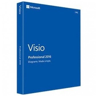 Microsoft Visio Professional 2016 by Microsoft