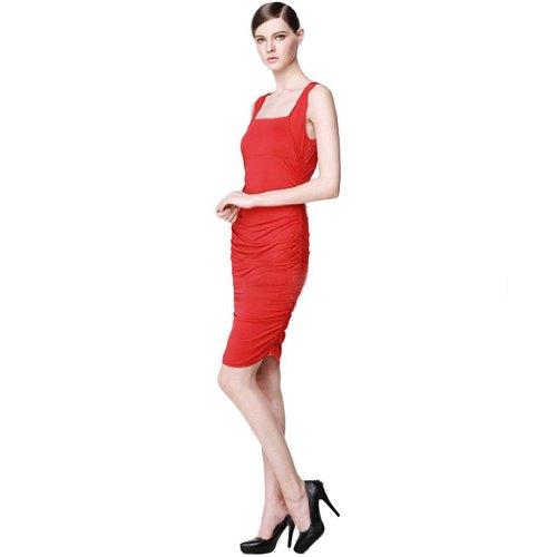 Eyekepper - Vestido - Noche - Sin mangas - para mujer Rosso