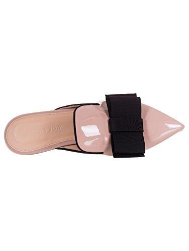 Casa Piel Por Bow Estar De Para Olivia's Zapatillas Rosa Mujer waAqFfnnZ