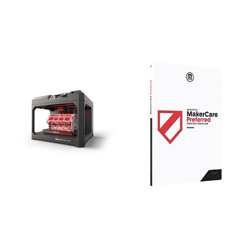 MakerBot Replicator+ and MakerCare Preferred Protection Plan for Replicator+ - 3 Year Printers