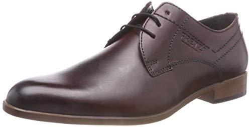 De bordo Hombre Rojo Para Fretz Men Oskar 93 Zapatos Derby Cordones 4tYz0Yn