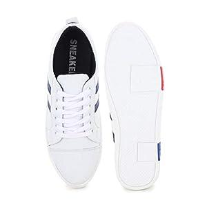 Digitrendzz Men's Sneakers/Casual Shoes/Shoes for Men's Casuals Sneakers/Unique Shoes (9, White Blue