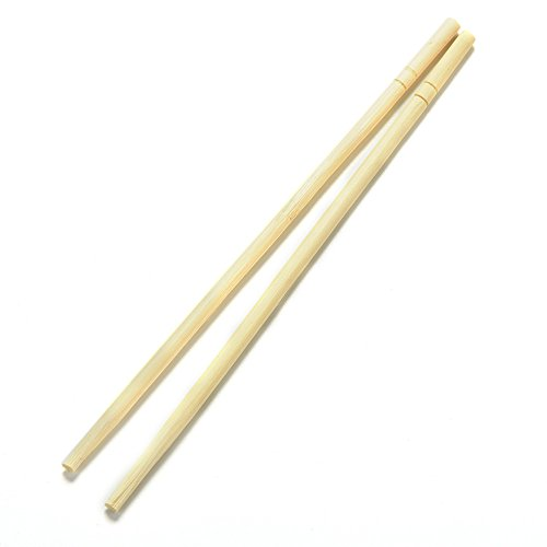 Nynoi bulkchopsticks disposable bamboo 100 uv Disposable Bamboo Wooden Chopsticks Hashi Individually Wrapped 40 - Eyeglasses Oaks Thousand