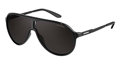 Carrera NEW CHAMPION NEWCHAMPGUY62NR Aviator SunglassesBLACK SHMT62 mm