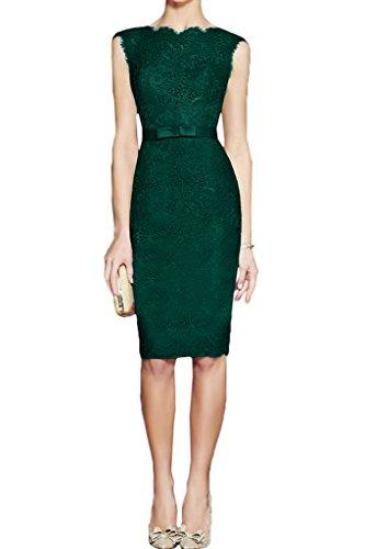 pizzo qualità abito da Prom alta ressing del alla abito Dunkelgruen Fest linea abito della partito elegante in ivyd vestito moda donna girocollo di sera da xq0wnTnFP