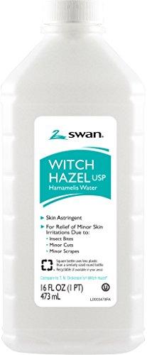 Swan Witch Hazel, 16 Ounce - Powder Bark Witch Hazel