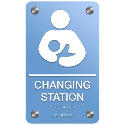 Baby Changing Station-Mom w/Baby