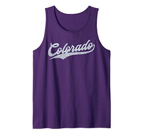 Colorado Baseball | Denver Pride Rocky Retro Gift Tank - Rockies Classic Colorado Shirt
